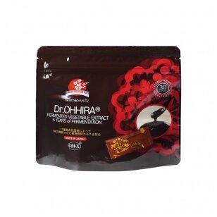 Dr.OHHIRA® Fermentuotas augalinis ekstraktas, 30 maišelių po 2,5 gr. Maisto papildas.