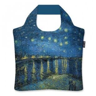 "Ecozz krepšys ""Starry Night Over The Rhone"" - Vincent van Gogh"