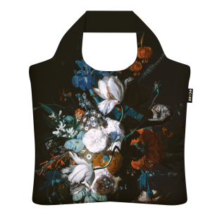 "Ecozz krepšys ""Vase With Flowers"" - Jan van Huijsum"