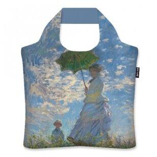 "Ecozz krepšys ""Woman with Parasol"" - Claude Monet"