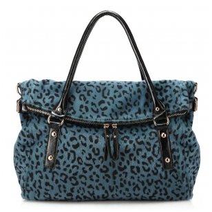 Leopardo kailio tekstūros rankinė