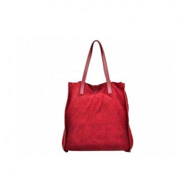 Zomšinė rankinė - krepšys 3