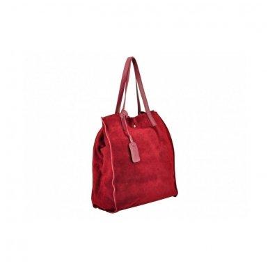 Zomšinė rankinė - krepšys 4