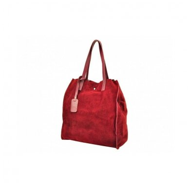 Zomšinė rankinė - krepšys 5