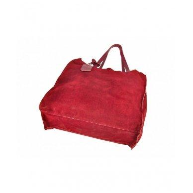 Zomšinė rankinė - krepšys 7