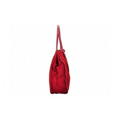 Zomšinė rankinė - krepšys 2